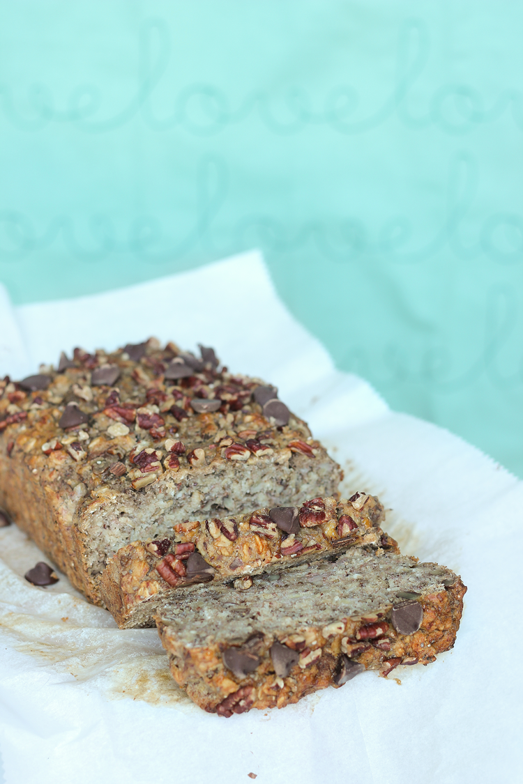 Super Moist Vegan Banana Bread