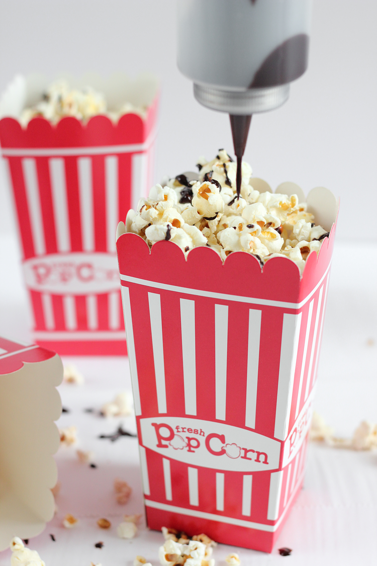 Vegan Chocolate Covered Popcorn