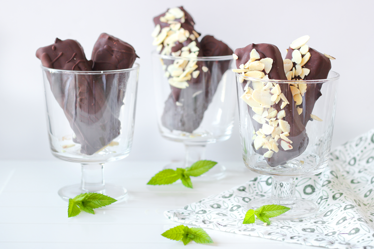 Vegan Mint Klondike Ice Cream